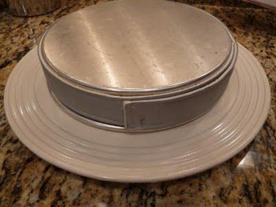 unmolding cake