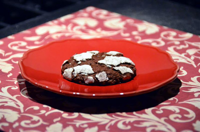 mocha snow cap cookies - buttreyum. how to make chocolate mocha crinkle cookies. chocolate crinkle cookie recipe with mocha.