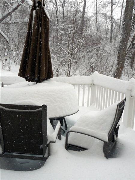 December 19, 2009 Snow Storm Virginia ButterYum