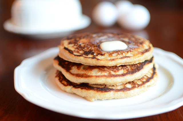 Whole Wheat Buttermilk Pancakes - ButterYum
