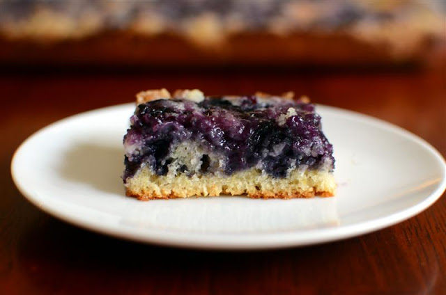 Blueberry Kuchen - ButterYum
