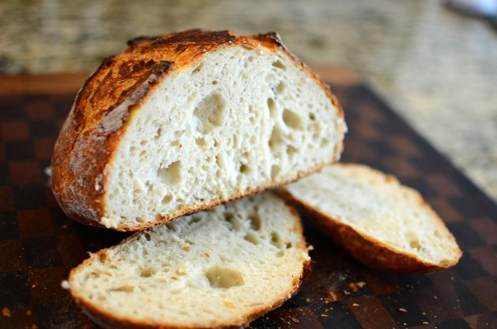 NYTimes No-Knead Bread - ButterYum