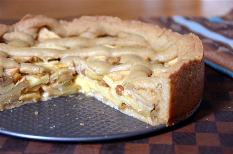 Apple Pie Leaking Appeltaart Dutch Apple Pie