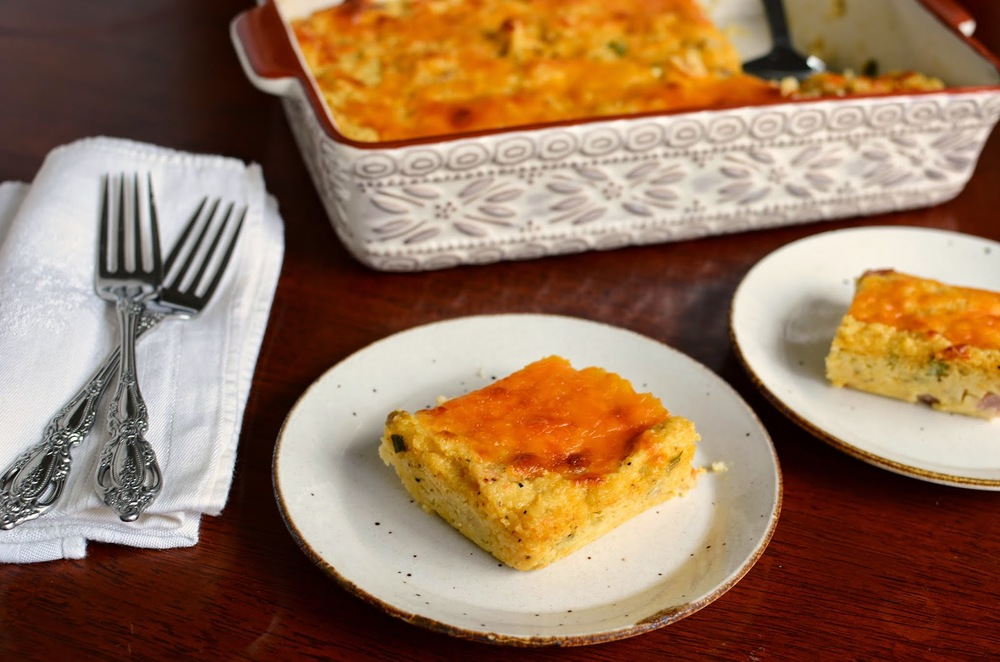 Ham and Cheese Grits Casserole - ButterYum