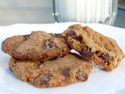 Shredded Wheat Chocolate Chip Cookies