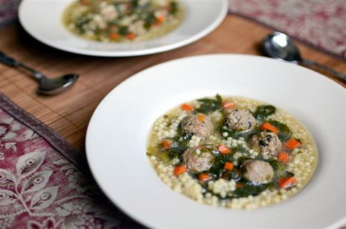 Hearty Italian Wedding Soup - ButterYum