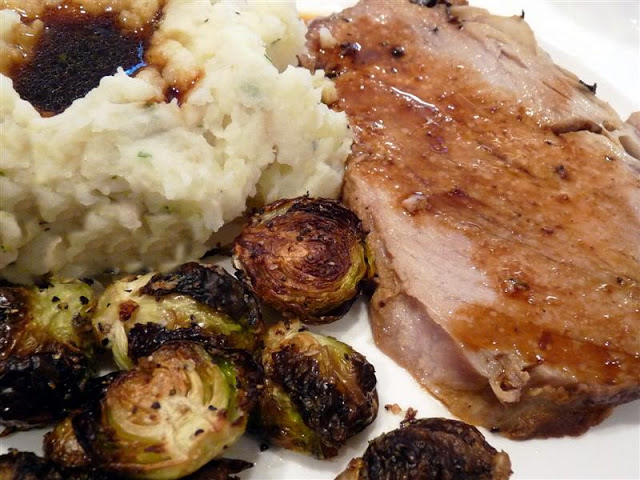 Old Fashioned Pork Roast from Cook's Country - ButterYum --  Cook's Country old fashioned pork roast recipe