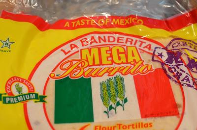 "12-inch ""mega"" burrito size soft flour tortillas"