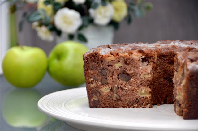 Paula Deen's Apple Cake - ButterYum