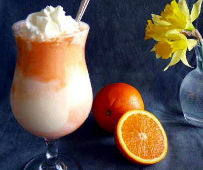 Orange Dreamsicle Float