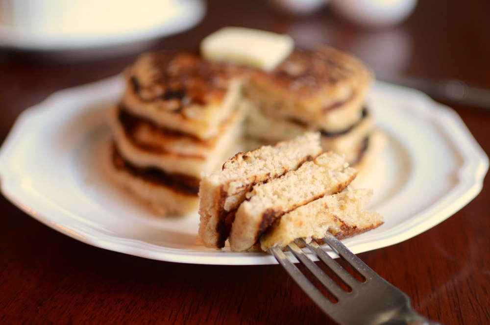 Light Whole Wheat Pancakes