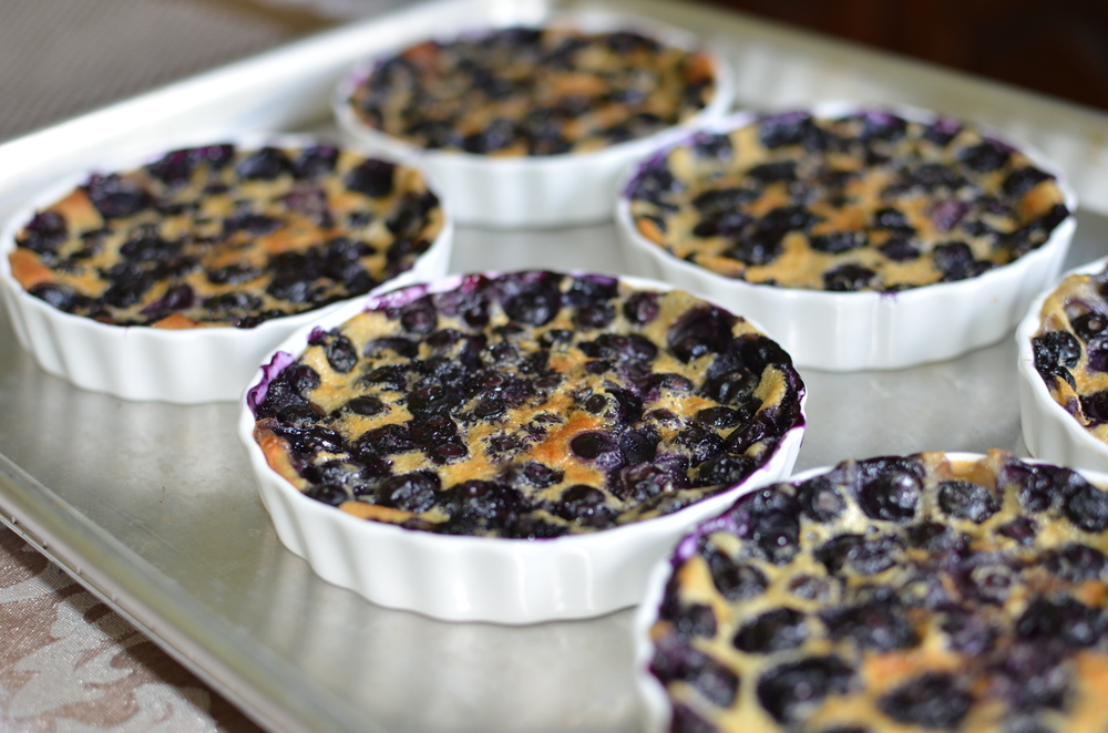 Blueberry Clafoutis recipes with photos.