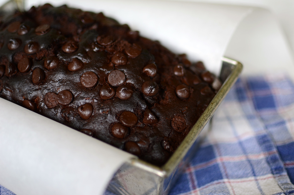 Double Chocolate Zucchini Bread - ButterYum