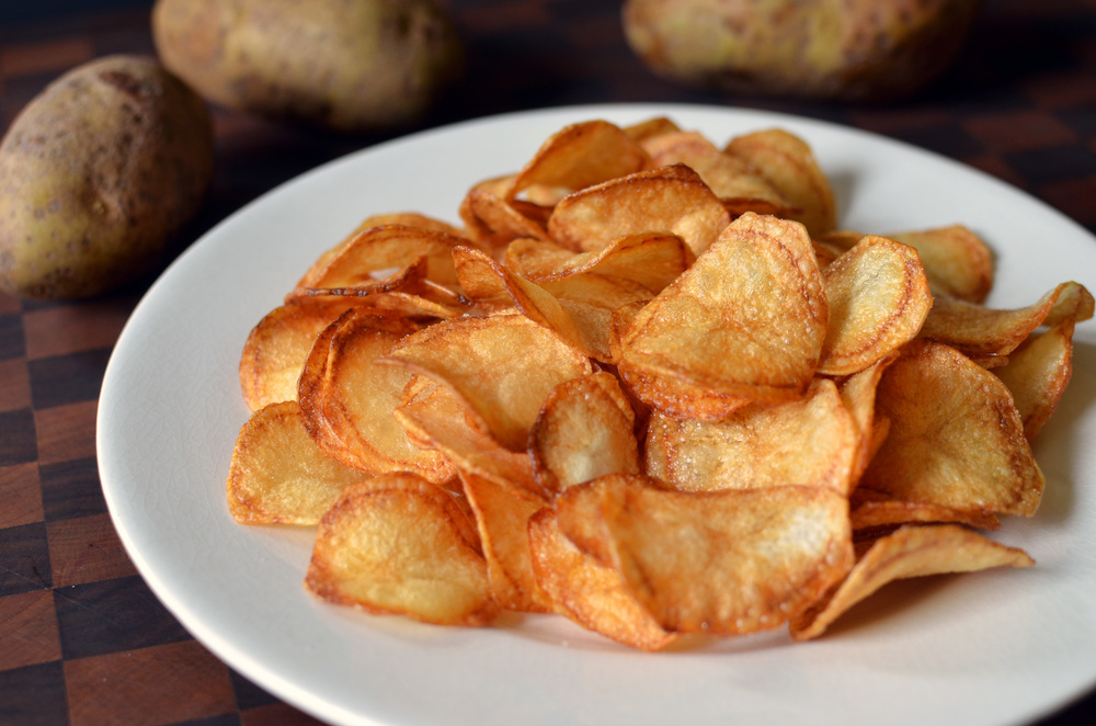 Small Batch Potato Chips - ButterYum