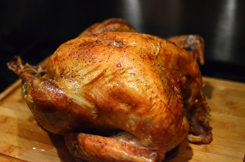 Dry Brined Turkey - ButterYum.  brined turkey recipe.  how to make a turkey for thanksgiving.  thanksgiving turkey recipe.  the easiest brined turkey.