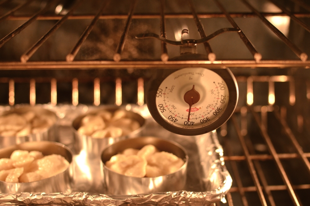 Preheat oven to 400F.  For best results, use an accurate oven thermometer.