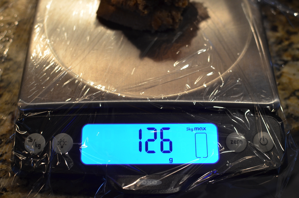 Divide the dough into 3 portions - if you want to be technical, each should weigh 126 grams.
