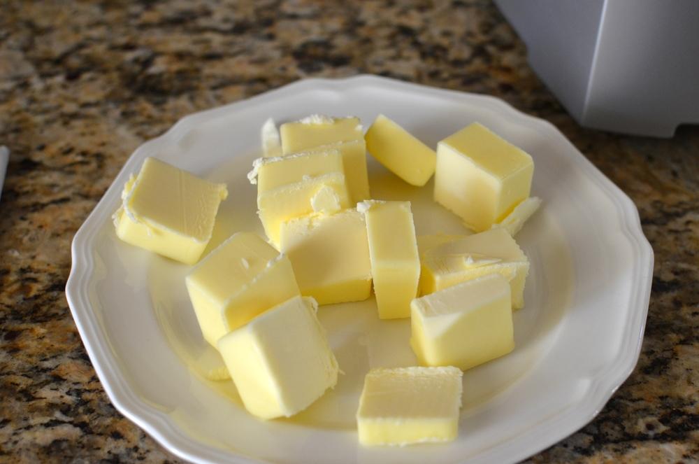 Add butter.