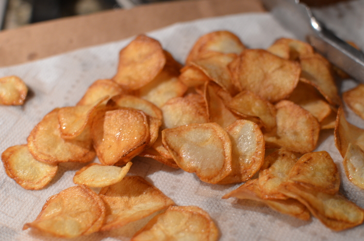 Purple Peruvian Potato Chips Butteryum