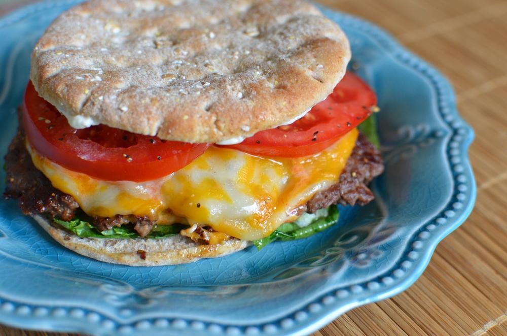 Three Napkin Skillet Burgers - ButterYum