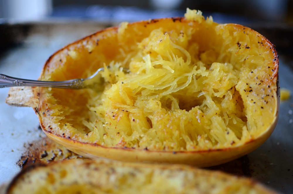 Roasted Spaghetti Squash - ButterYum