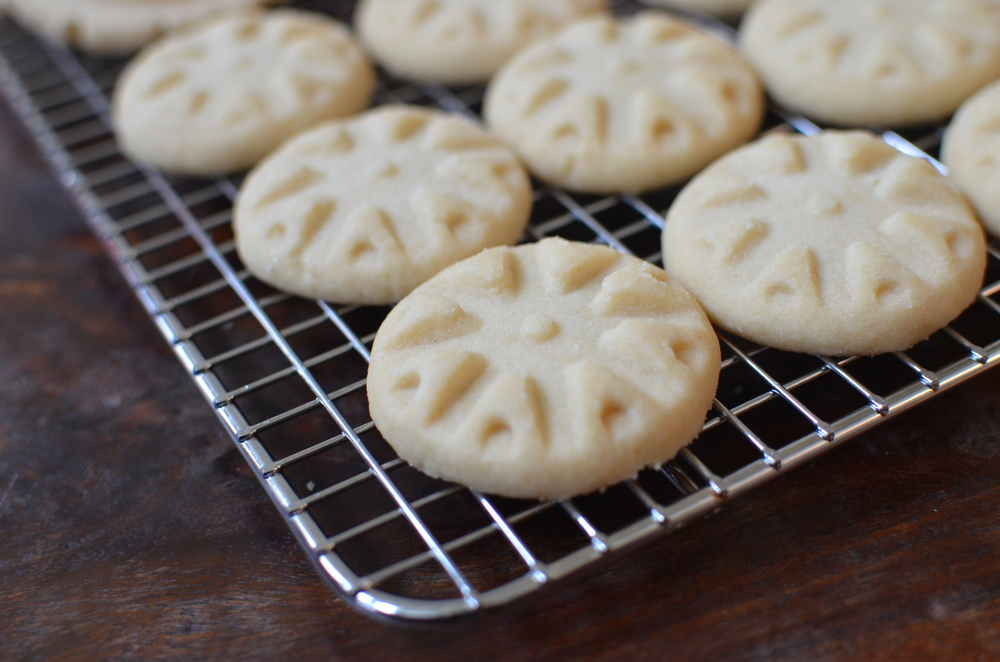 Vanilla Shortbread Cookie Recipe WITH PHOTOS