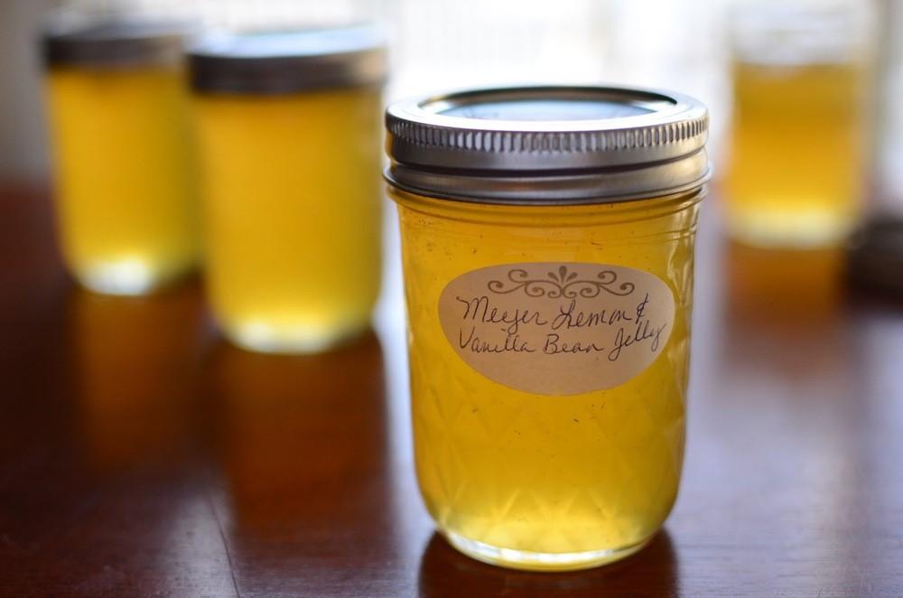 Meyer Lemon and Vanilla Bean Jelly - ButterYum