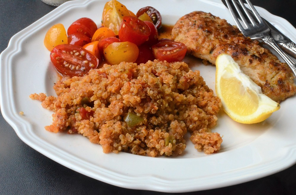 Spanish Quinoa Recipe WITH PHOTOS