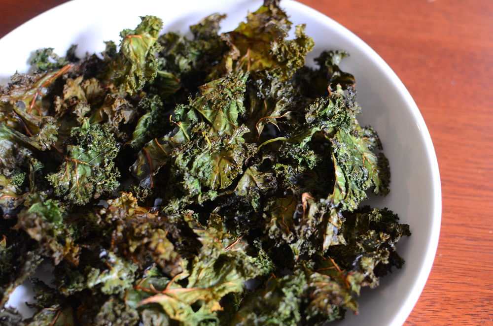Kale Chips - ButterYum