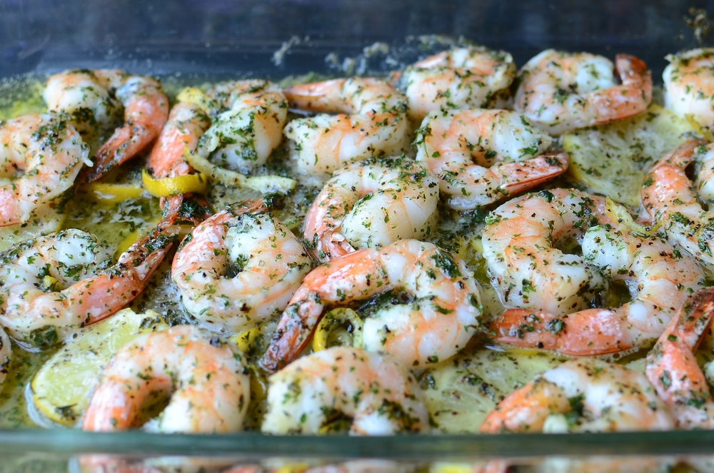 Baked Garlic Butter Shrimp - ButterYum
