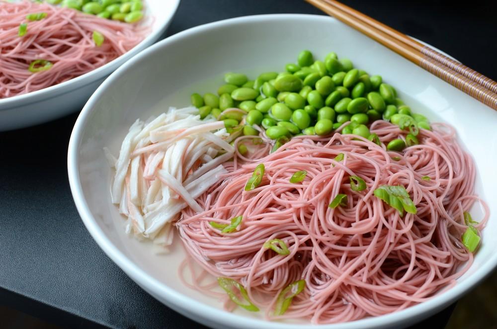 Hot Ume Somen Noodle Bowls - ButterYum