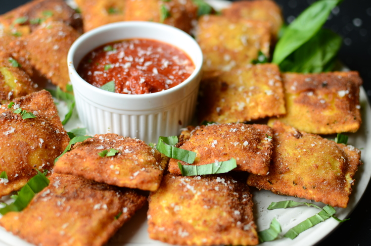 Toasted Ravioli, shared by Butter Yum