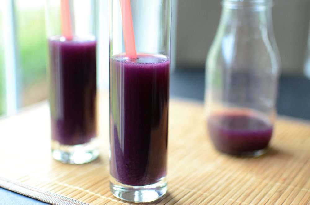 DIY Concord Grape Juice with how-to photos