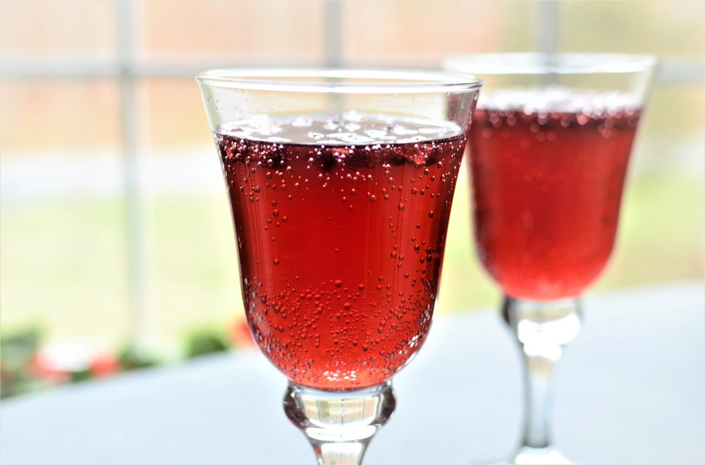 Pomegranate Fizz Mocktail - ButterYum