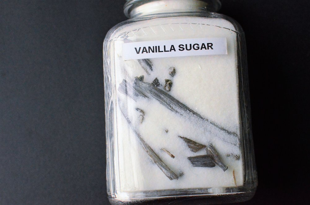 how to make vanilla sugar at home - with photos