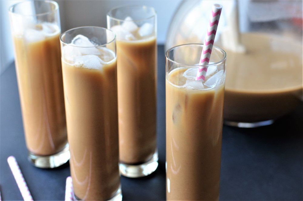 Vietnamese Iced Coffee - ButterYum.  Iced coffee recipe.  How to make spiced ice coffee.
