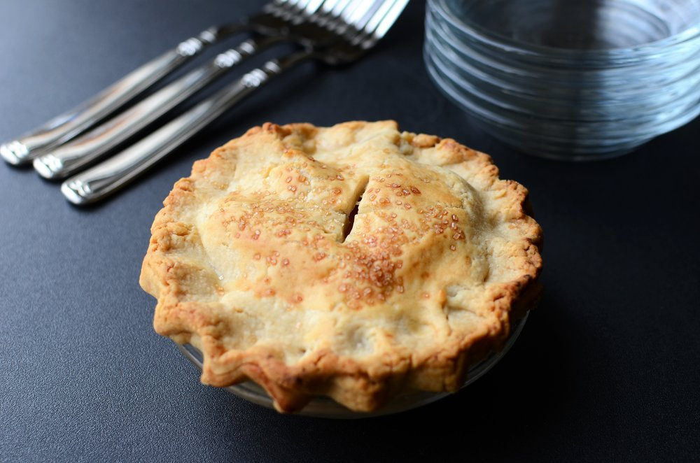 Hot Water Apple Pie - ButterYum