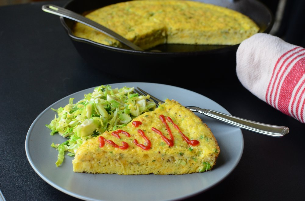 Fluffy Frittata - ButterYum