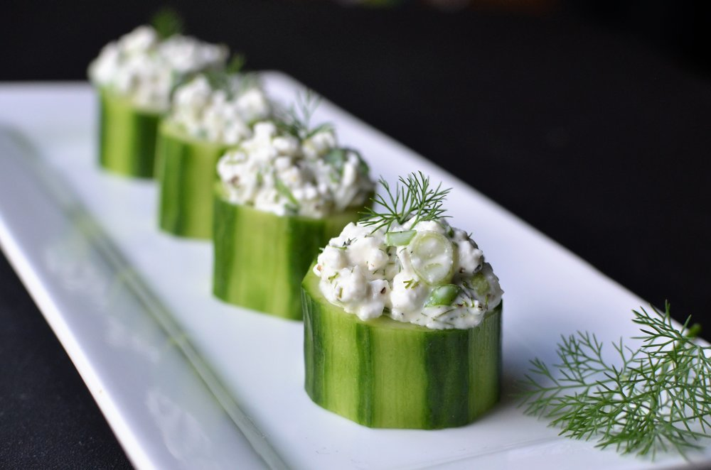 Cucumber Cups - ButterYum