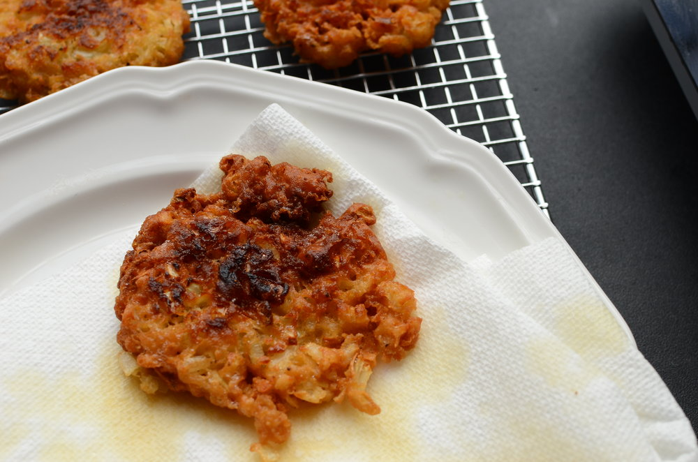 Amish Recipes - Onion Patties - ButterYum