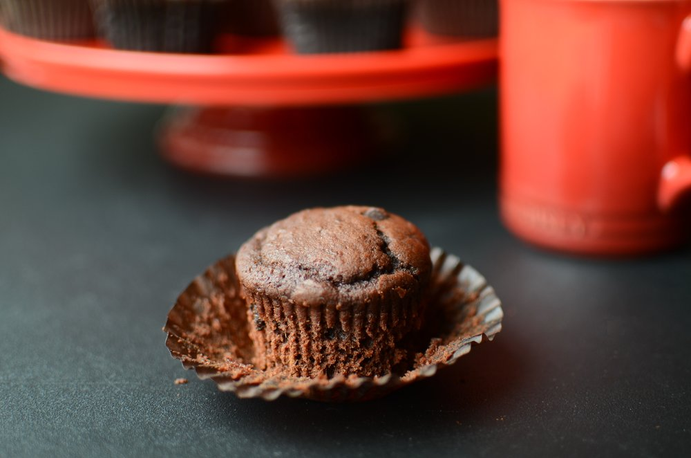 ButterYum - Double Chocolate Muffins