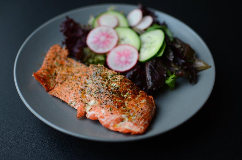 Salmon Dry Rub Butteryum