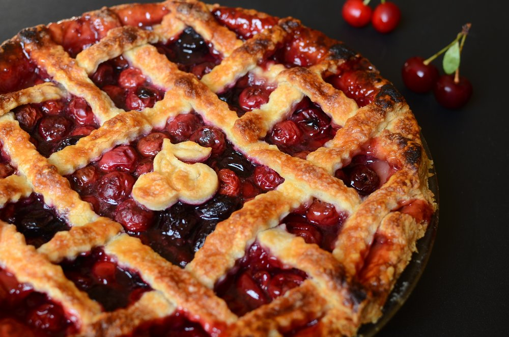 Sour Cherry Pie - ButterYum —