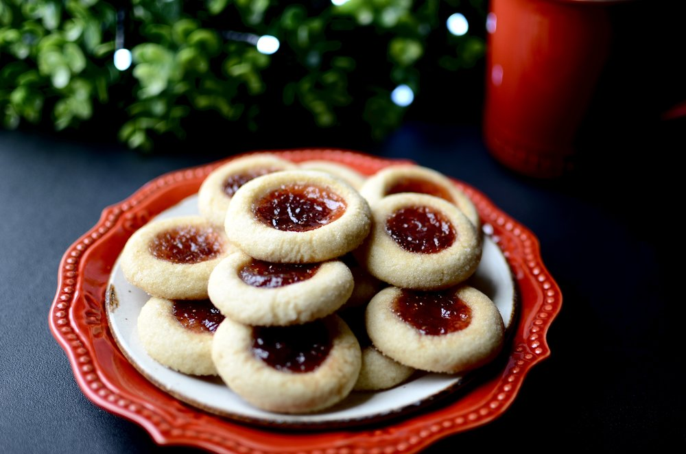 Thumbprint Cookies - ButterYum —