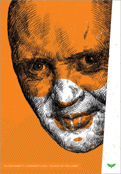 screamprints: The Silence of the Lambs (1991) by Oliver Barrett