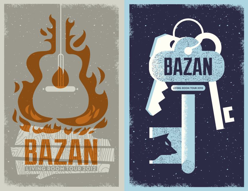 2 new designs for David Bazan