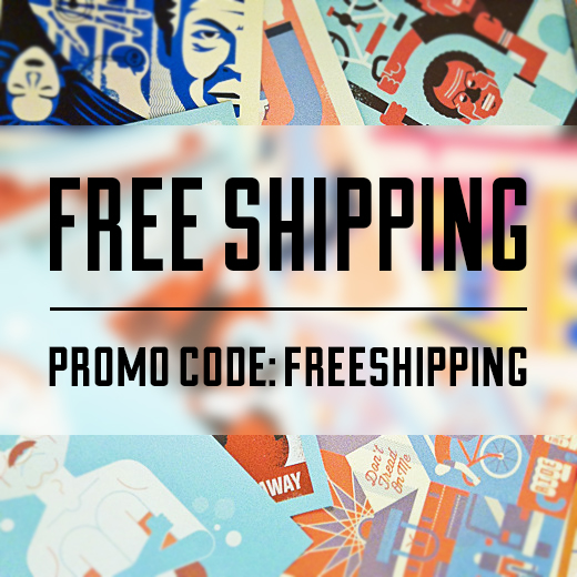 FREE SHIPPING (for a limited time). Use the promo code FREESHIPPING upon checkout in the bandito shop and get, well… free shipping. Did I mention free shipping?