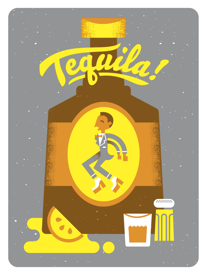 *BANDITO ORIGINAL*   My contribution to a show at Gallery 1988. Tribute to Pee-wee Herman.   Tequila!