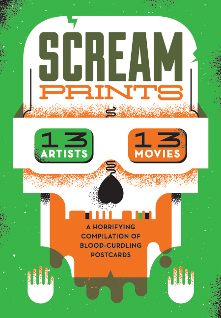 * BANDITO ORIGINAL * New collaborative project — SCREAM PRINTS Horror movie inspired postcards, coming soon.