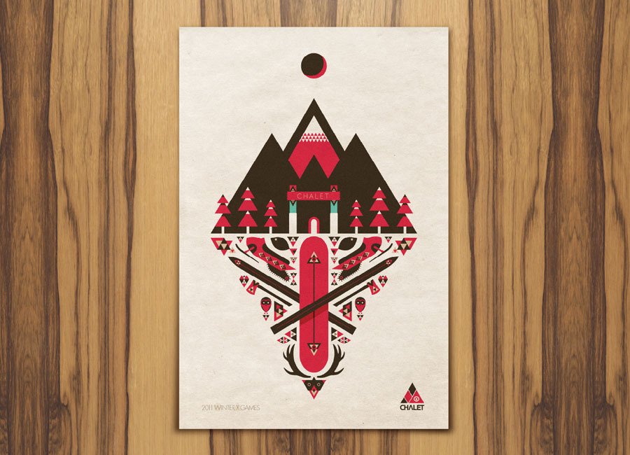 * OUTSTANDING BRANDING *   Winter X-GAMES 15. from Aaron Melander and Phil Clark.    http://cargocollective.com/aaronmelander